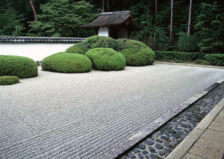 zen garden to describe the blog post