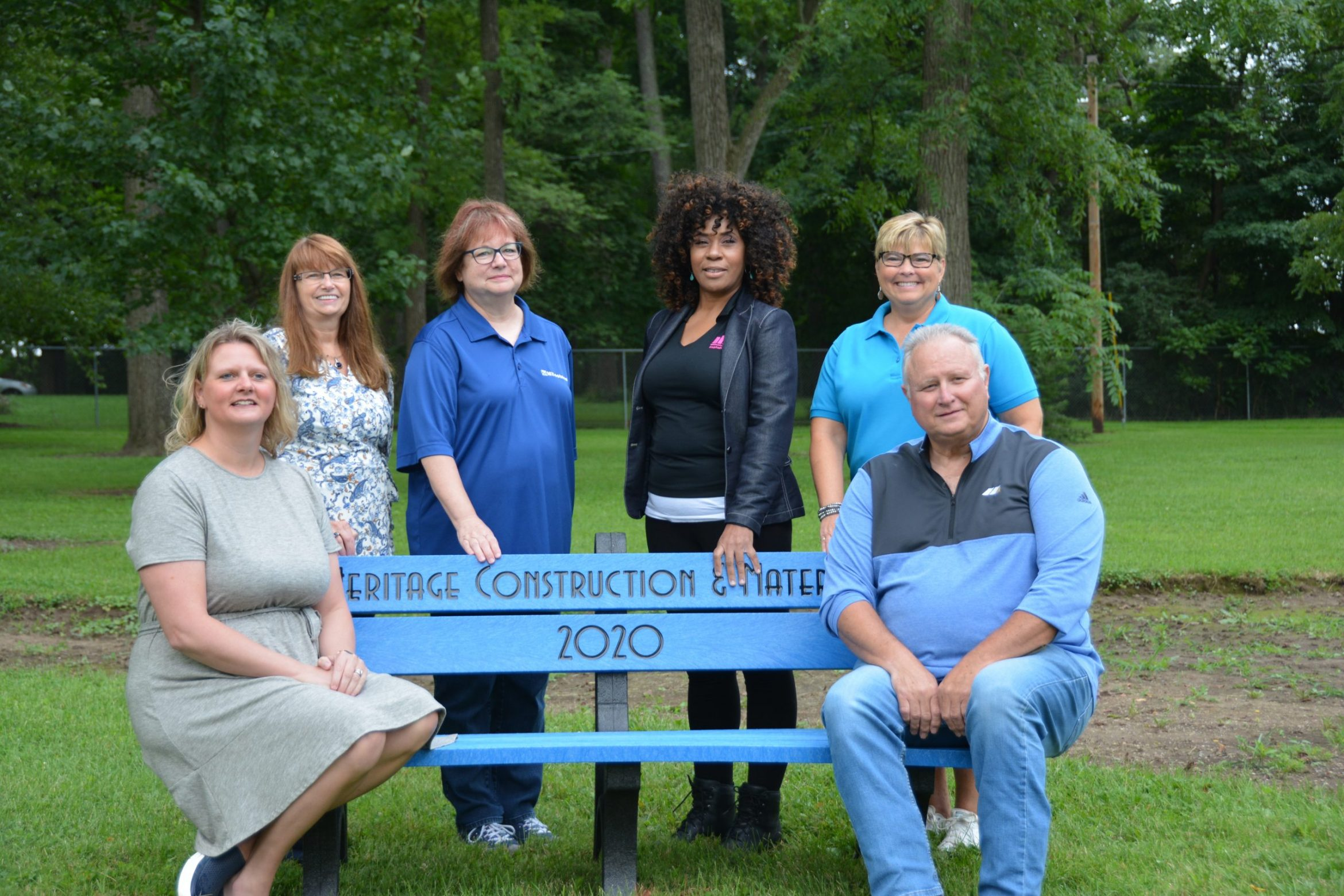 Thorntown Park Bench Dedication