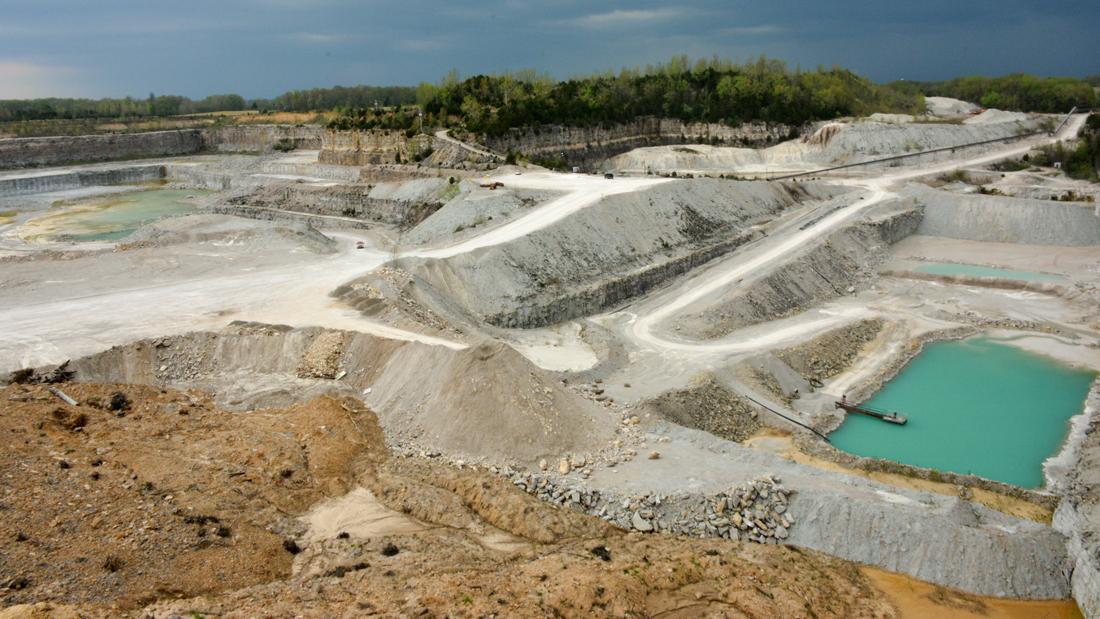 Columbus stone quarry