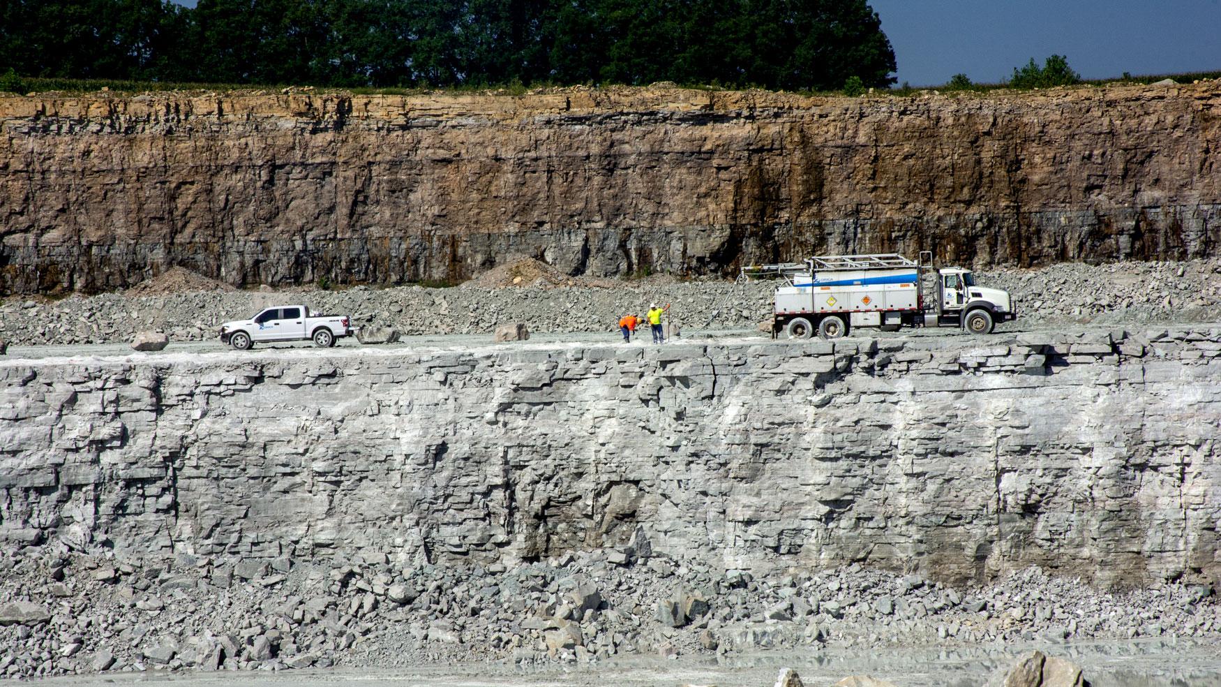 Flat Rock quarry