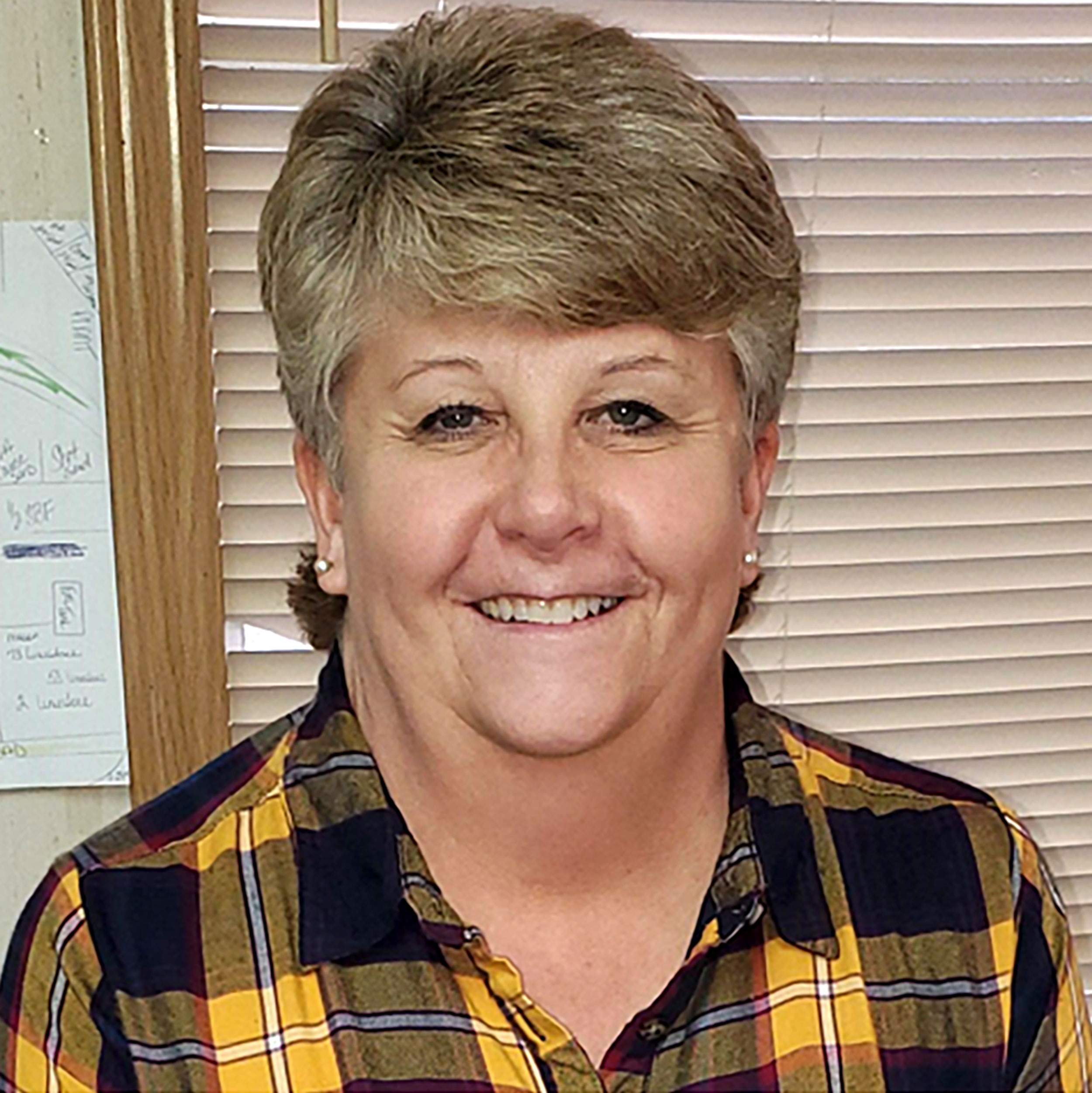 Photo of Julie Johnson the Plant Clerk