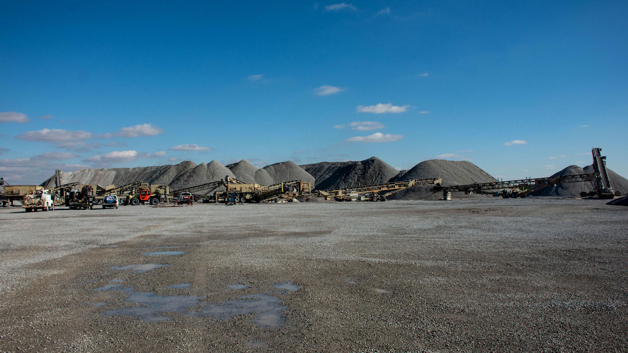 Lowell East quarry