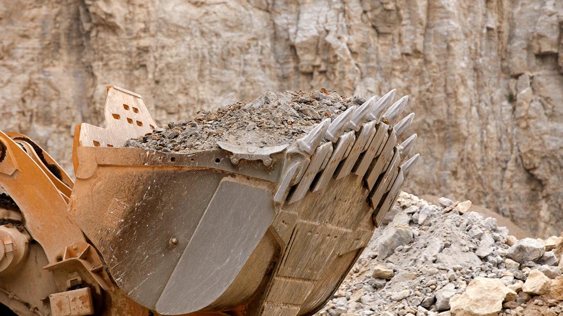 Equipment from Monon Stone Quarry