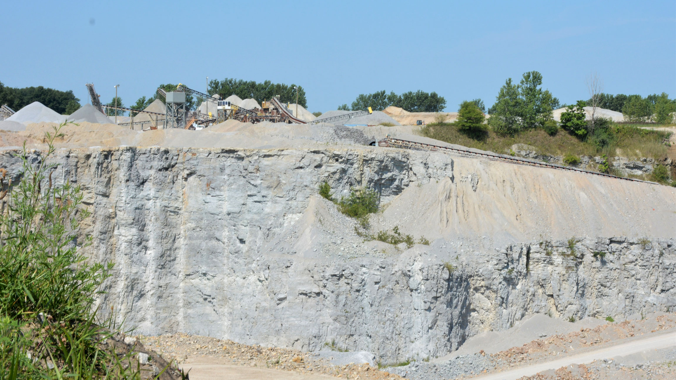 Photo from the Monon Quarry