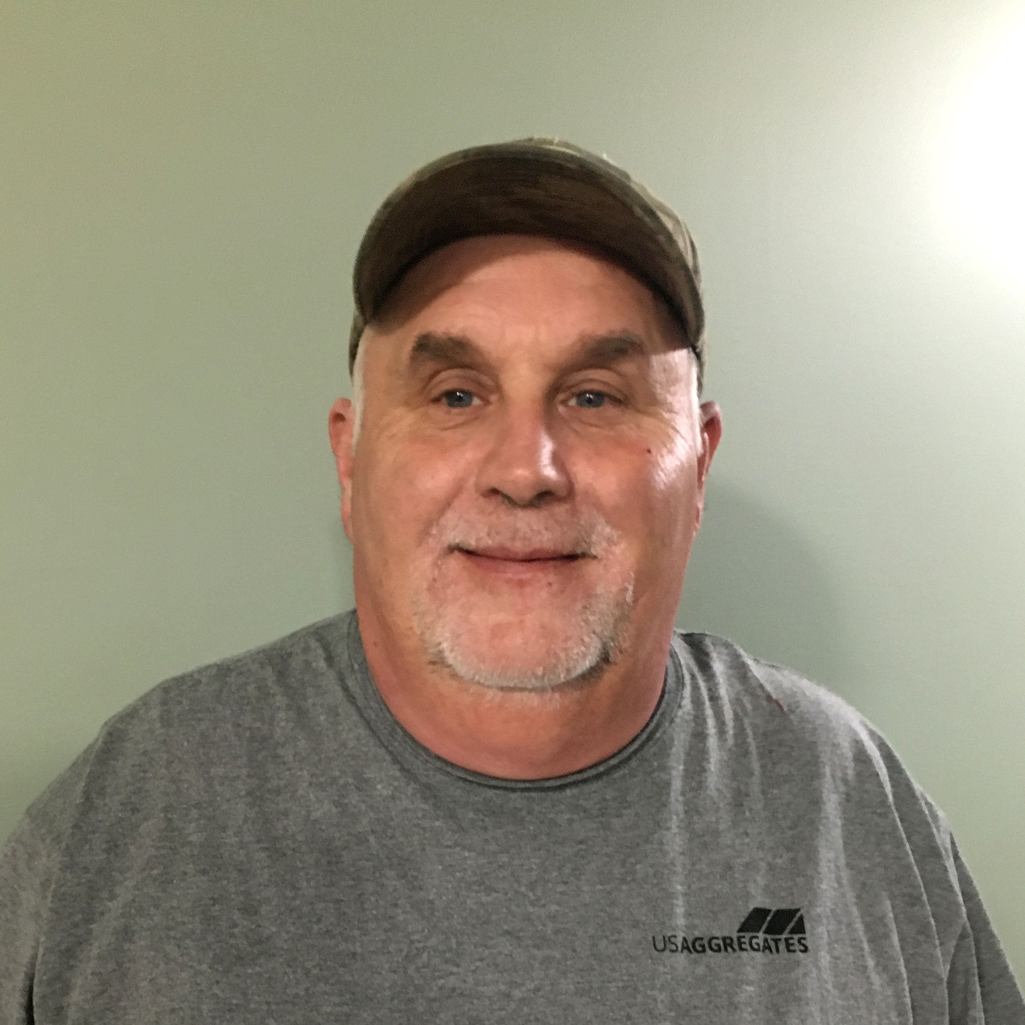 Photo of Randy Johnson the equipment operator
