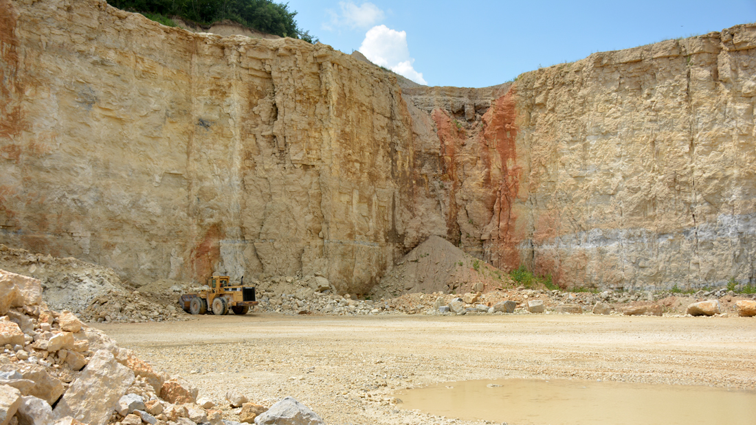 shows what the ridgeville quarry looks like