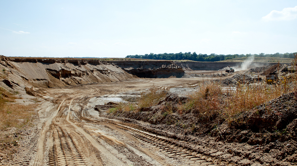 describes what the west lafayette quarry looks like