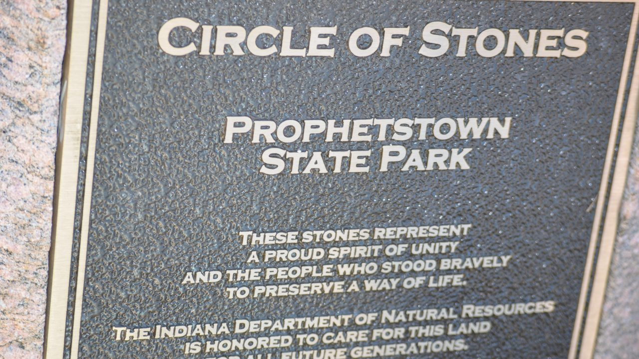 Prophetstown Circle of Stones state park