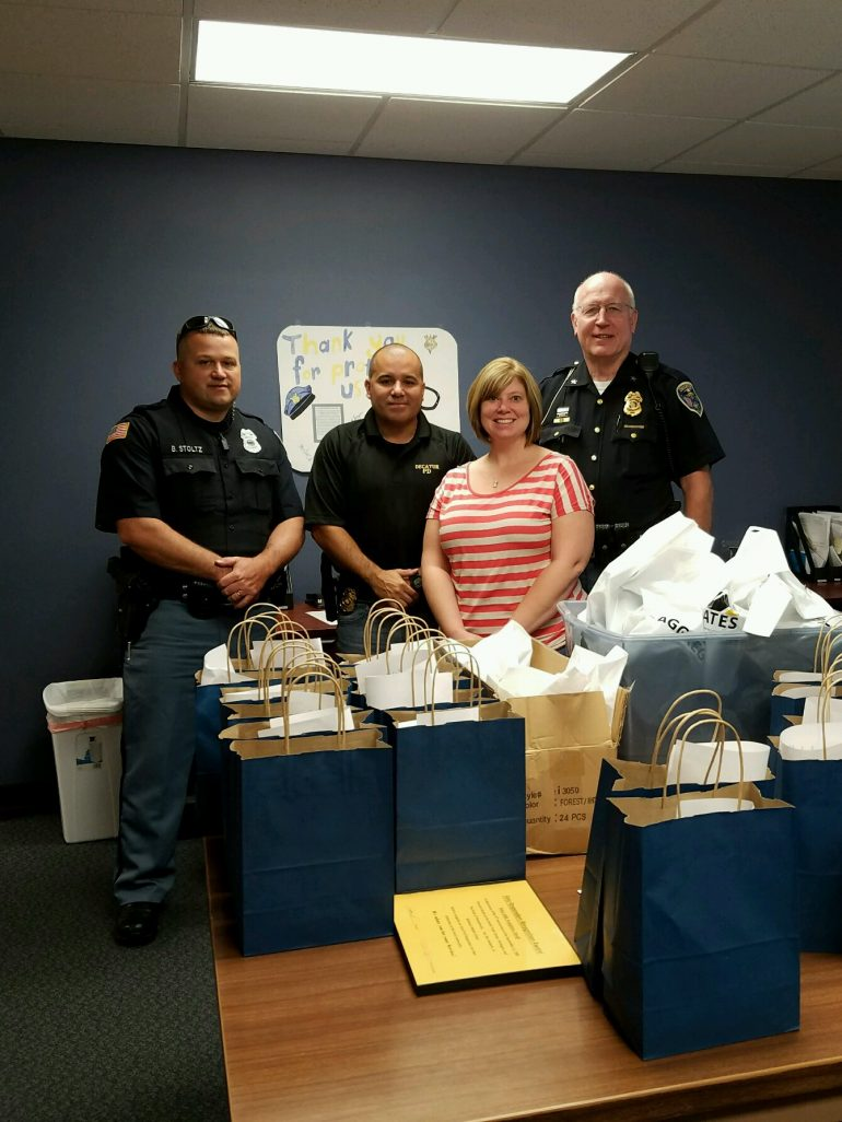 Honoring the Decatur Police