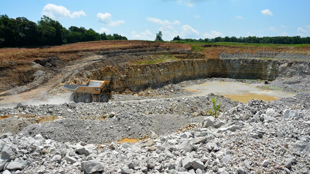 Cloverdale quarry