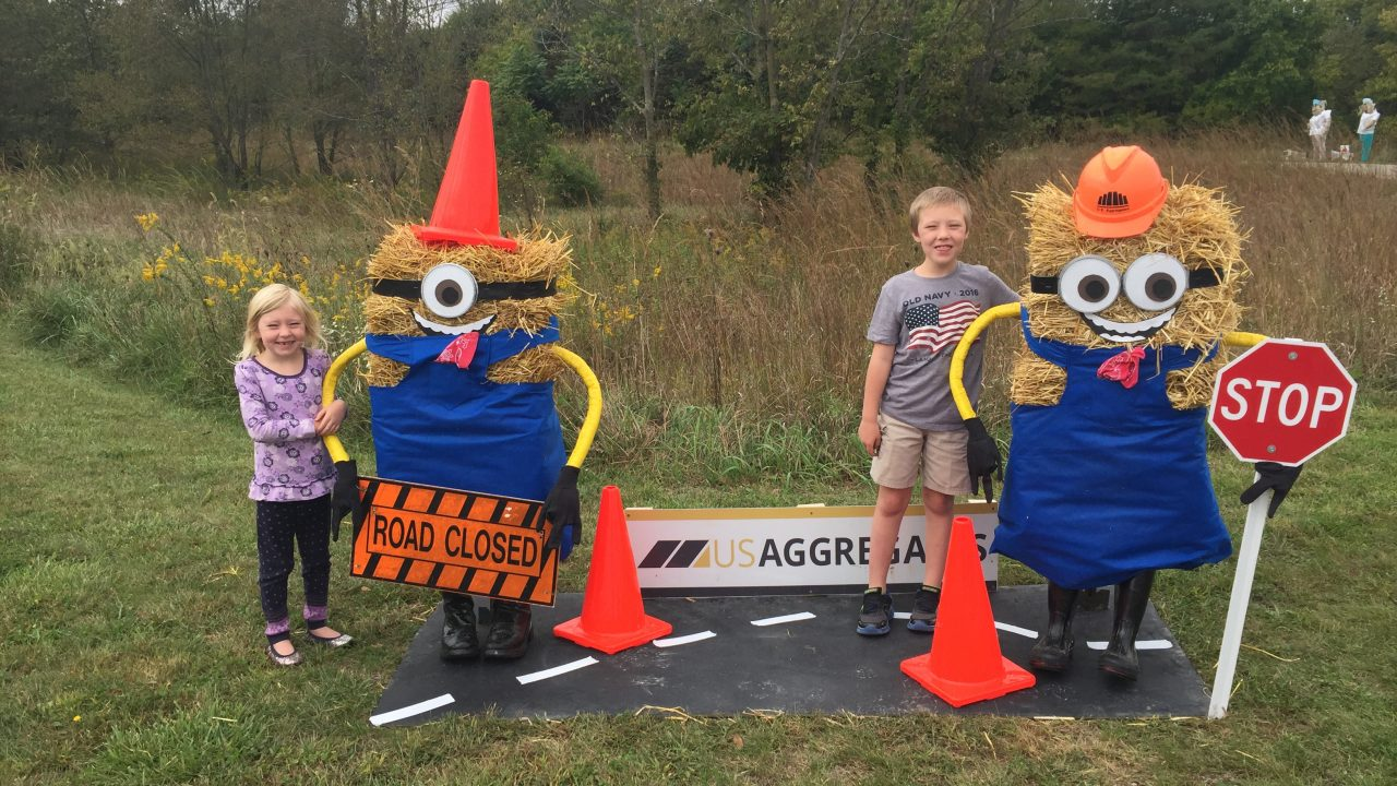 Trail of scarecrows 2016