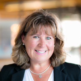 Photo of Lorie Webb the EHS Manager