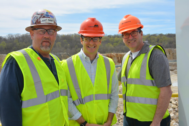 Spriingville quarry rep visit