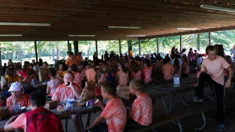community partnership lunch