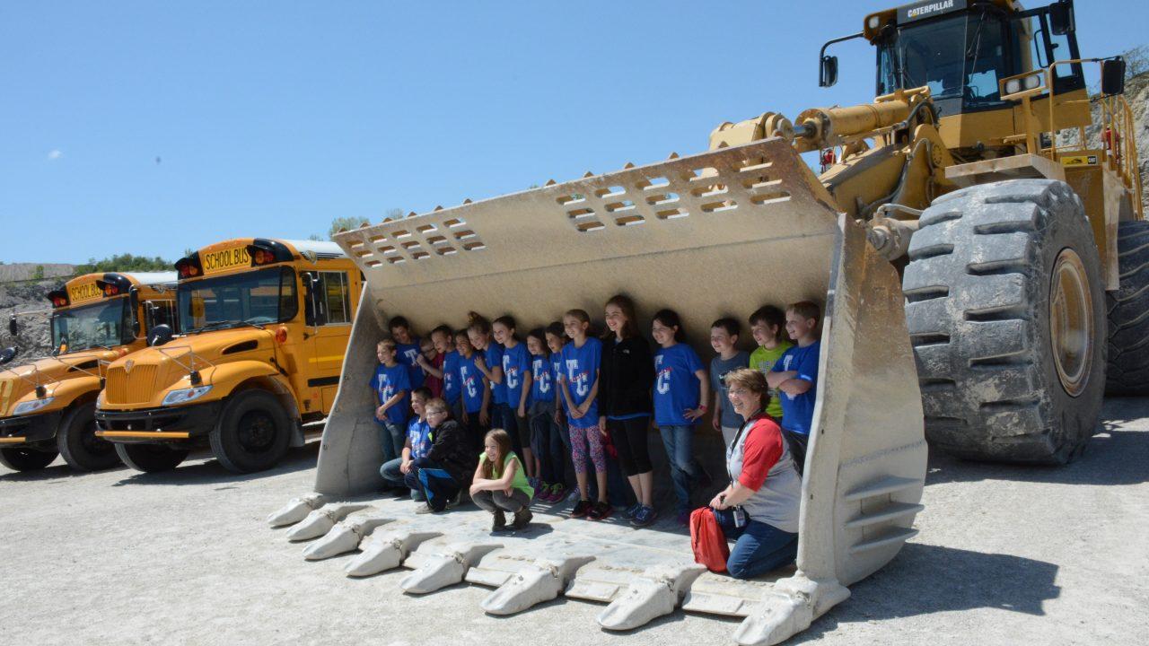 delphi school visit in bucket