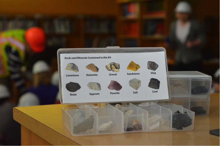 Rock boxes for classroom