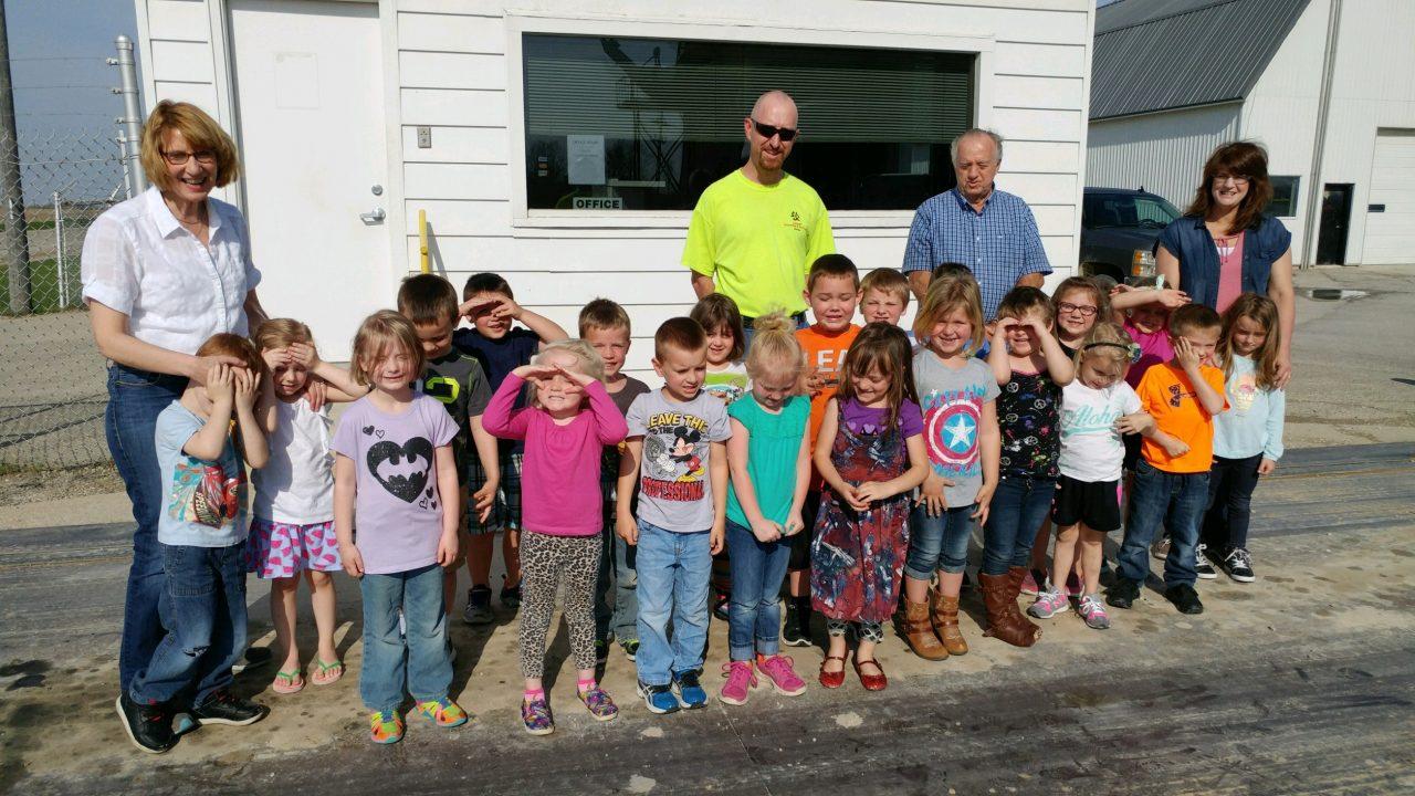 preschool visit to quarry