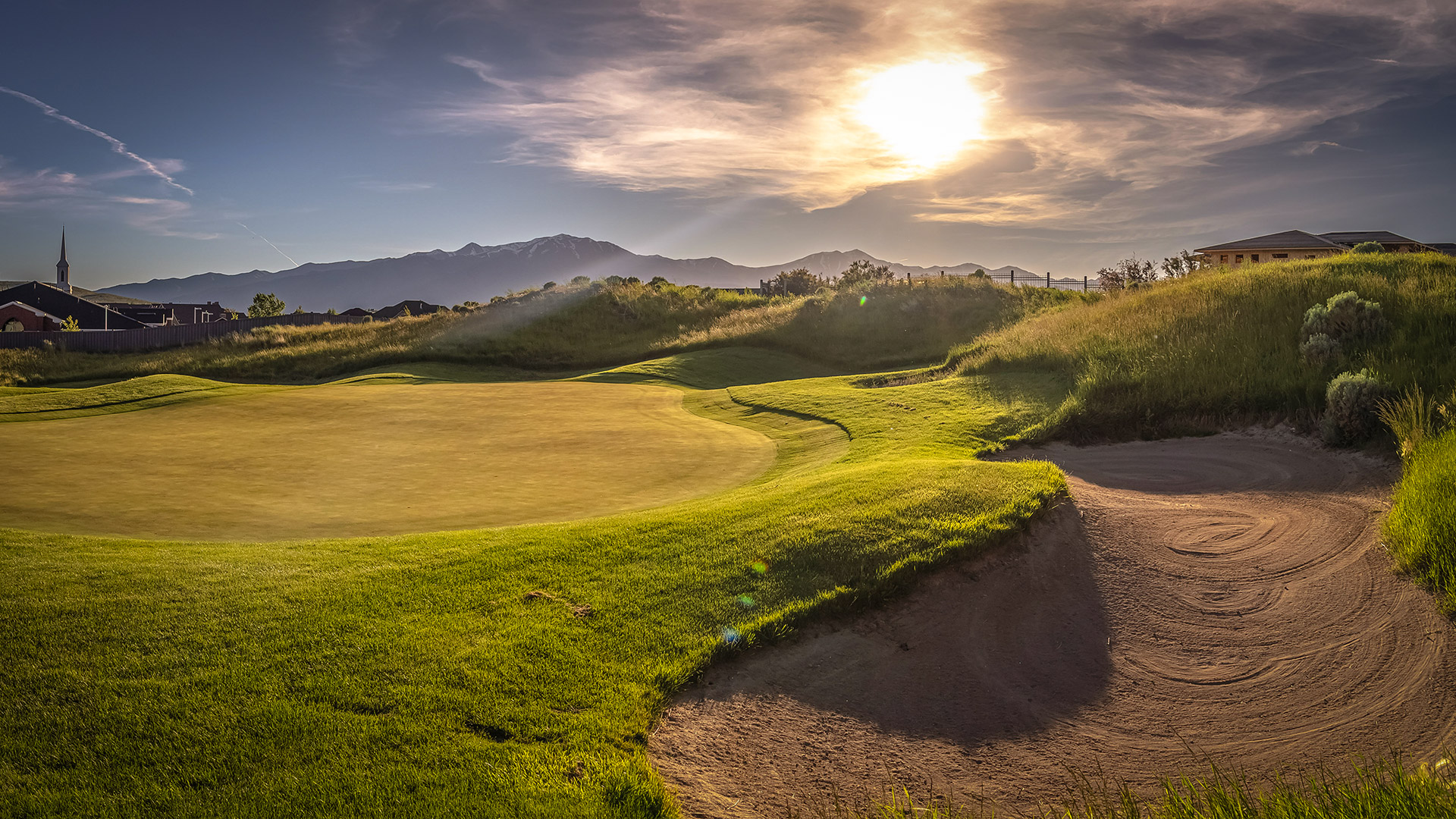golf course recreation project