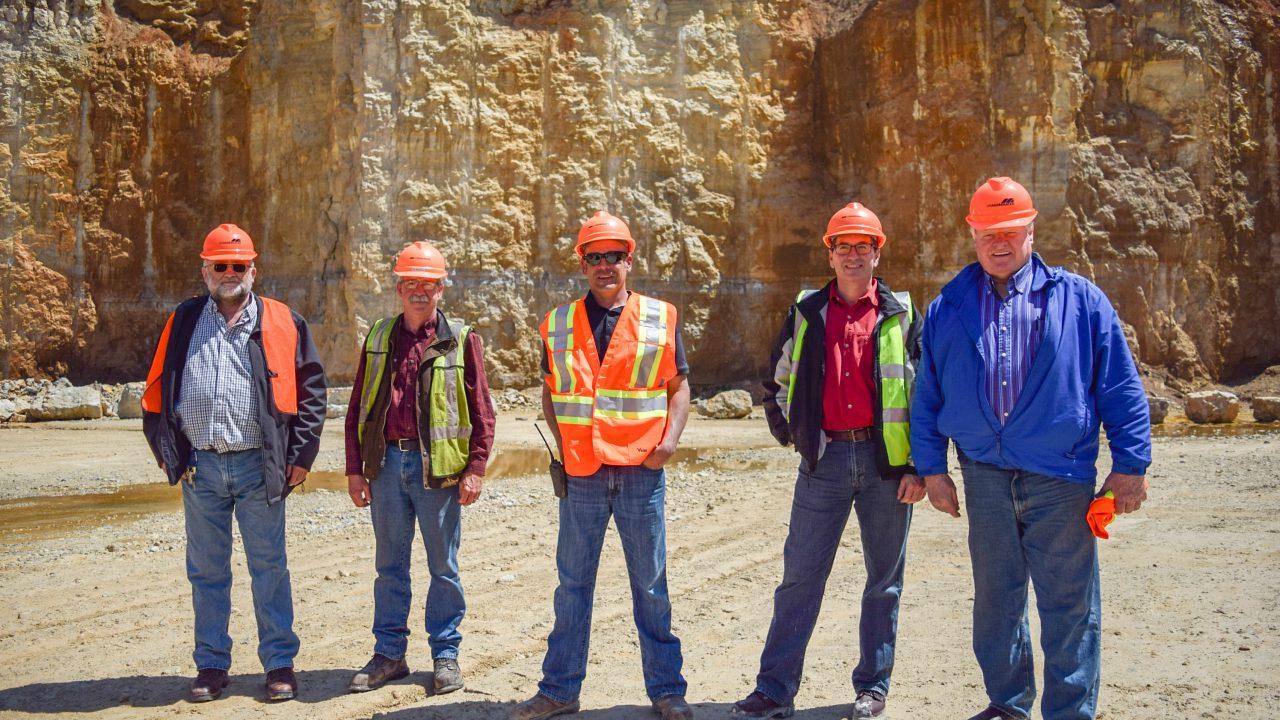 ridgeville quarry tour