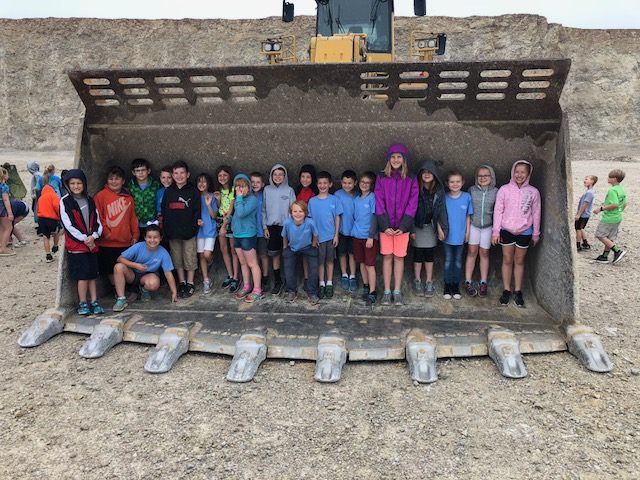 school group photo at Delphi
