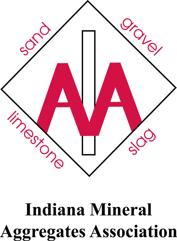 Photo is clickable and creates a button to take you to the Indiana Mineral Aggregates Association website