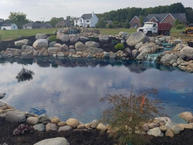 landscaped lake for blog post