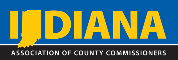 Photo is clickable and creates a button to take you to the Indiana Association of county commissioners website