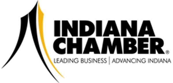 Photo is clickable and creates a button to take you to the Indiana Chamber website
