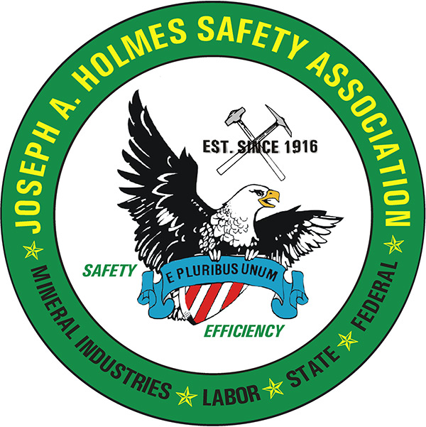 Photo is clickable and creates a button to take you to the Joseph A Holmes Safety Association website